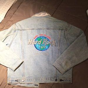 Vintage Hard Rock Cafe Orlando Jean jacket